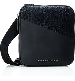Tommy Hilfiger Playful Novelty Reporter, Sacs portés épaule homme, (Black), 6x28x23 cm (B x H T)