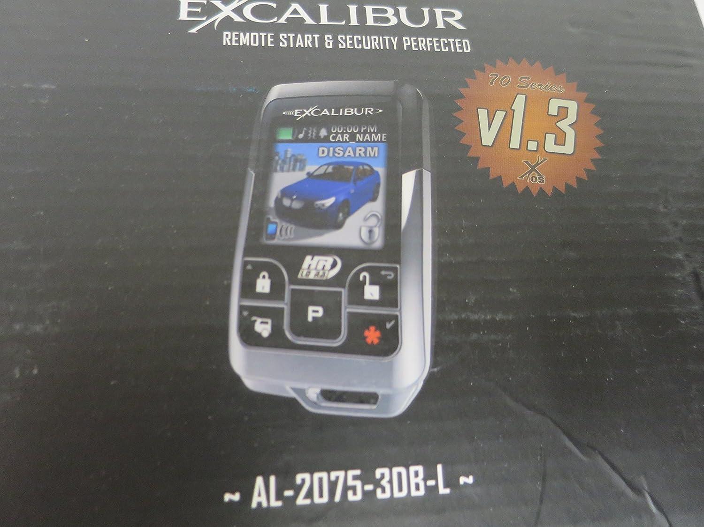 Excalibur AL-2075-3DB-L 2 Way 1 Mile Range Alarm Remote Start ...