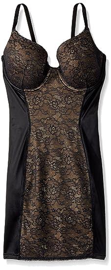 c01a5c7d8eec1 Flexees Women s Maidenform Shapewear Pretty Foam Cup Slip with Lace ...