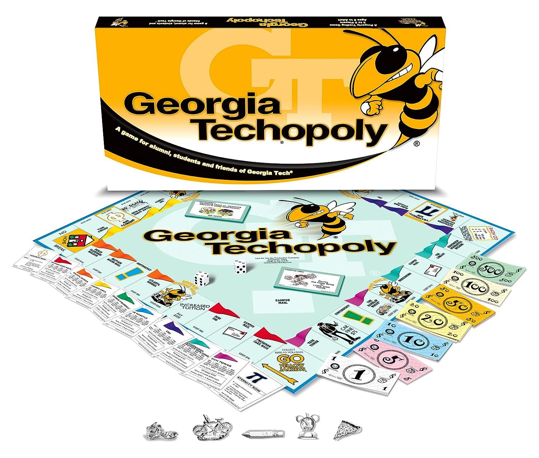 ventas en linea Late for the Sky TECH Georgia Tech Tech Tech Techopoly Juego de mesa  varios tamaños