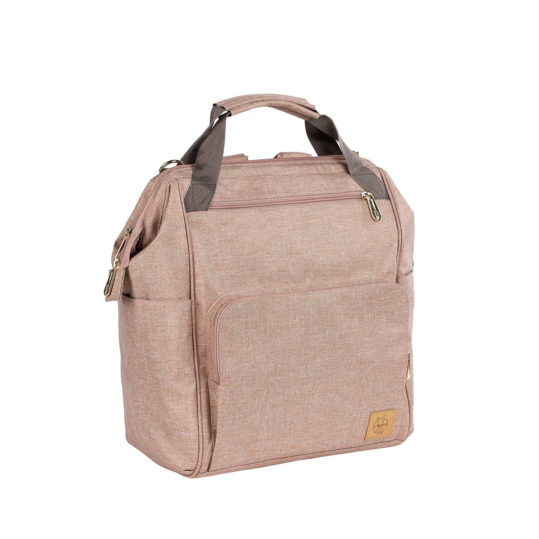 L/ÄSSIG Baby Wickelrucksack Wickeltasche inkl Wickelzubeh/ör nachhaltig produziert//Goldie Backpack ECOYA beige