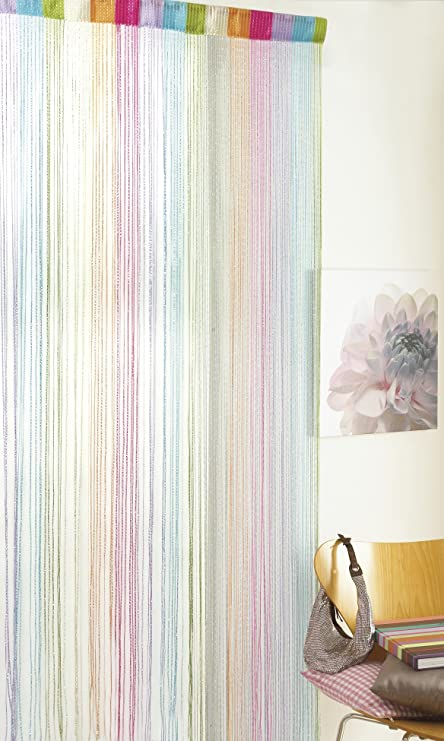 Glitter String Door Curtain Multi Coloured Curtain & Glitter String Door Curtain Multi Coloured Curtain: Amazon.co.uk ...