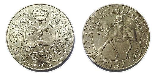 Münzen Für Sammler Queen Elizabeth Ii Commemorative Silver Jubilee