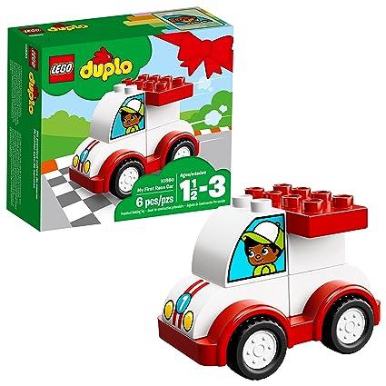 Amazoncom Lego Duplo My First Race Car 10860 Building Blocks 6