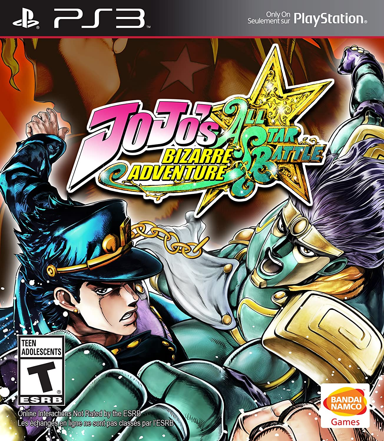 Amazoncom Jojos Bizarre Adventure All Star Battle Playstation