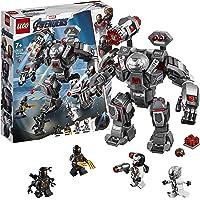 LEGO 76124 Marvel Avengers War Machine Action Figure, Ant-Man Minifigure, Super Heroes Playset, Colourful