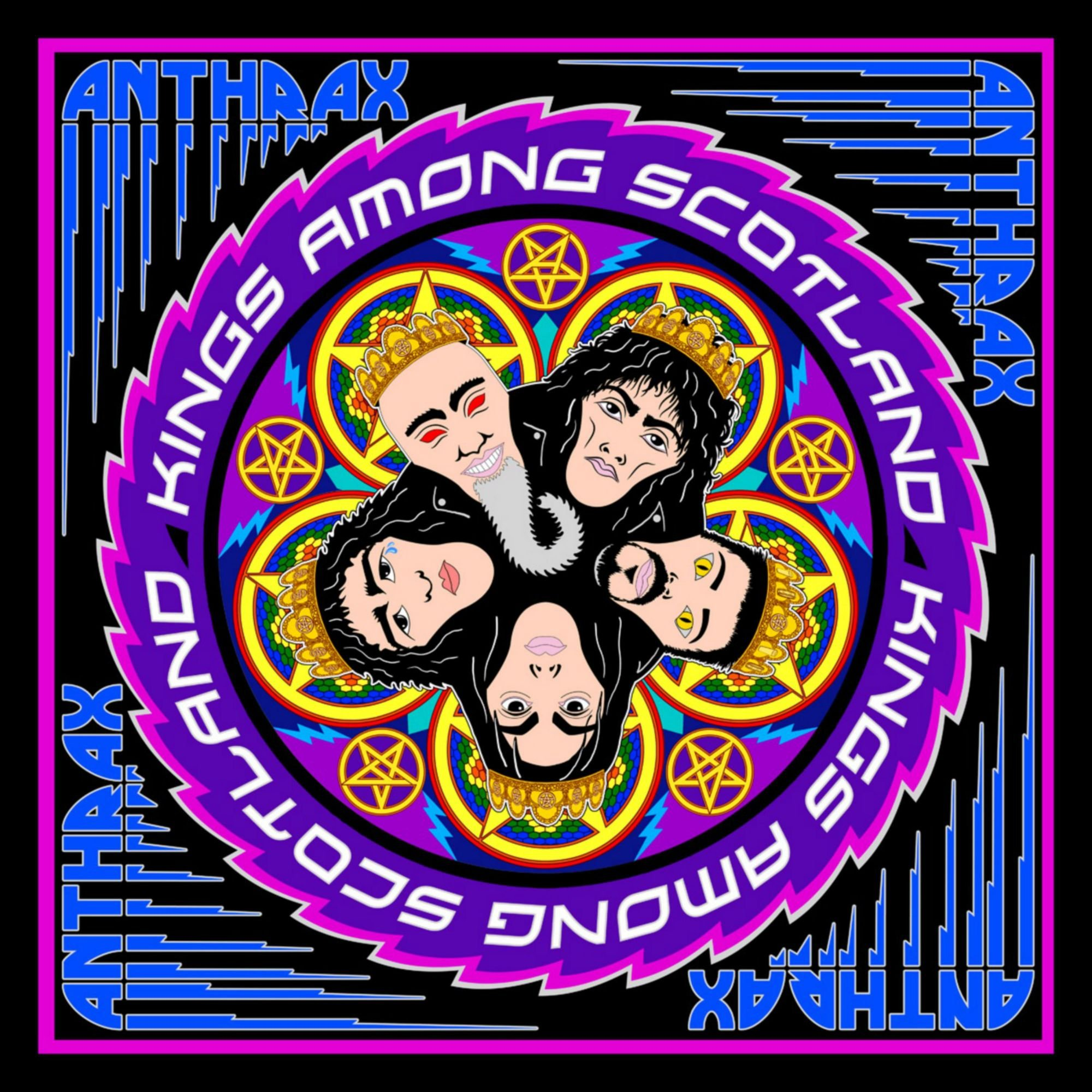CD : Anthrax - Kings Among Scotland (2PC)