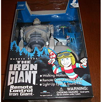 The Iron Giant Remote Control Walking Motion New In Box RARE Collectible: Toys & Games