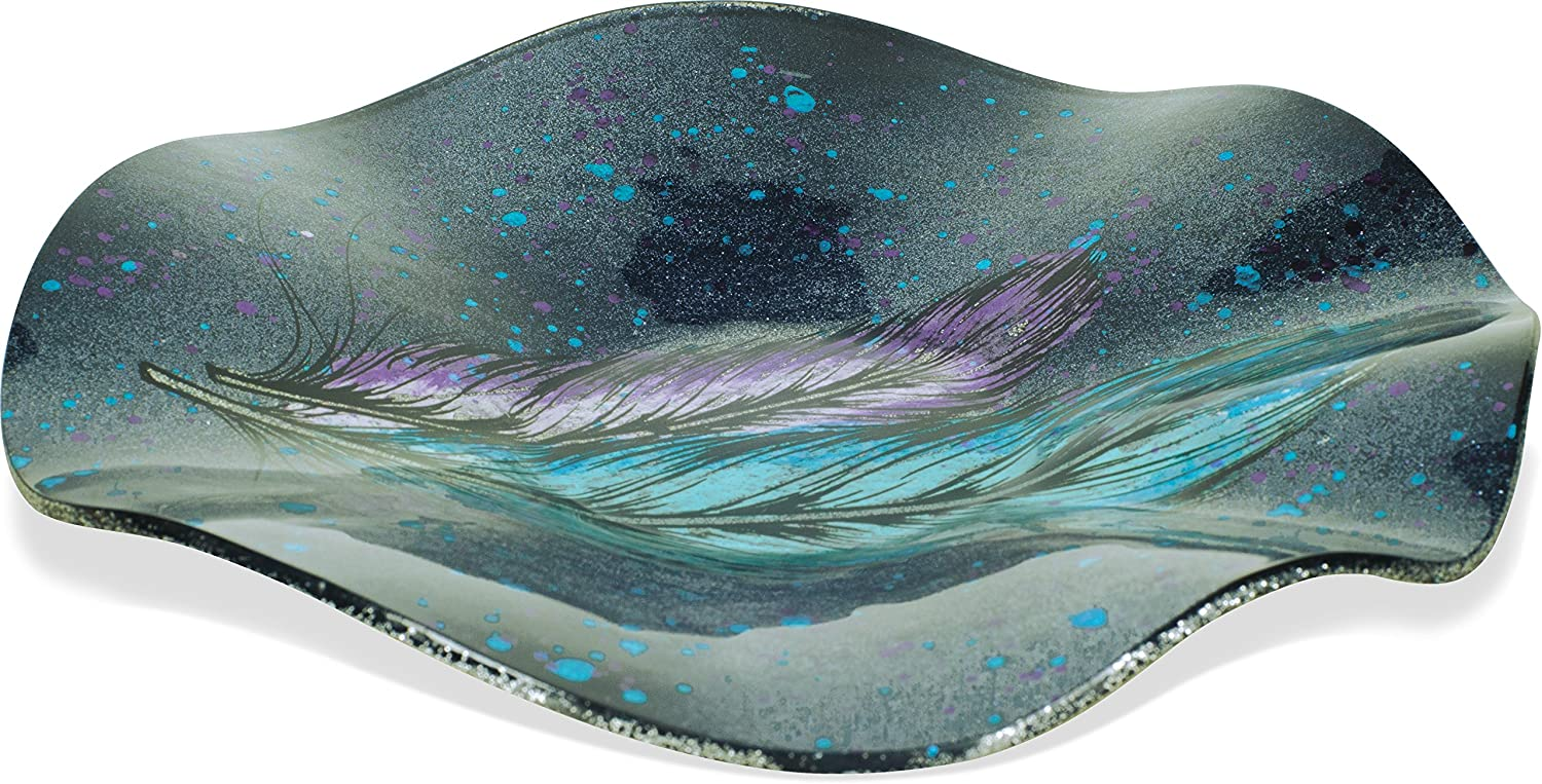 AngelStar Dancing Feathers Plate-16 Round