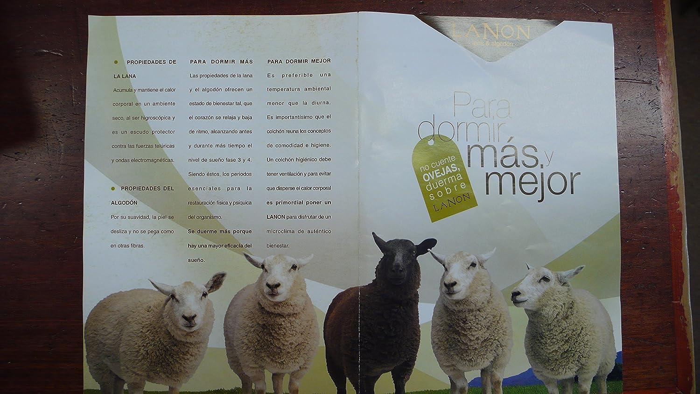 COLCHÓN DE Lana 100%, CUBRECOLCHÓN ANTIESCARAS, Topper Sistema DE Descanso Tradicional Bienestar del SUEÑO (Lana 500 GR + Algodon, Cuna 50 X 100 CM): ...