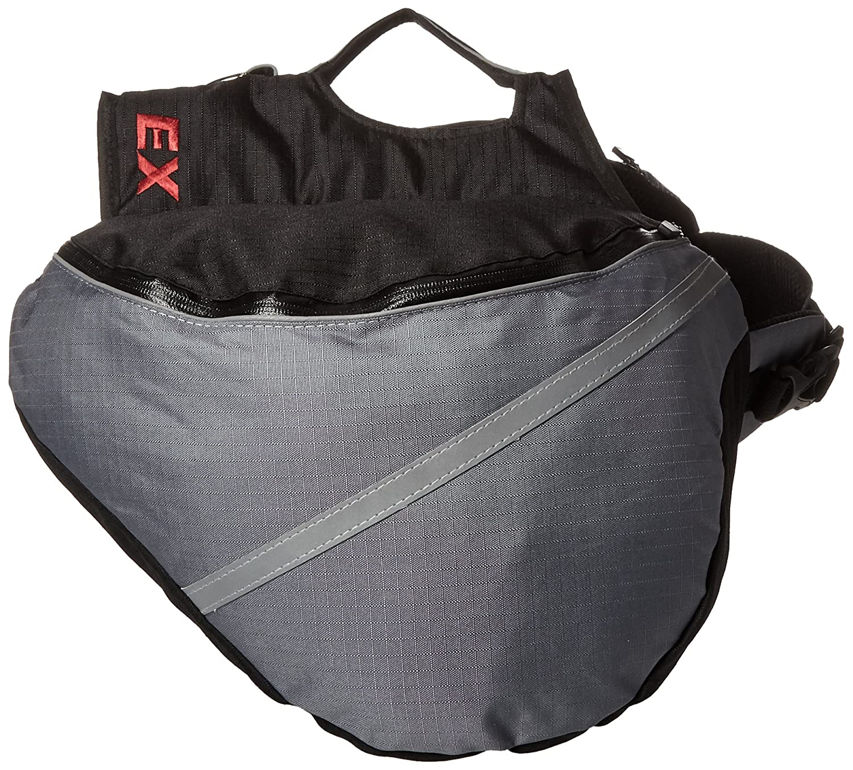 Doggles Dog Backpack, Extreme Large, Gray/Black BPEXLG-09