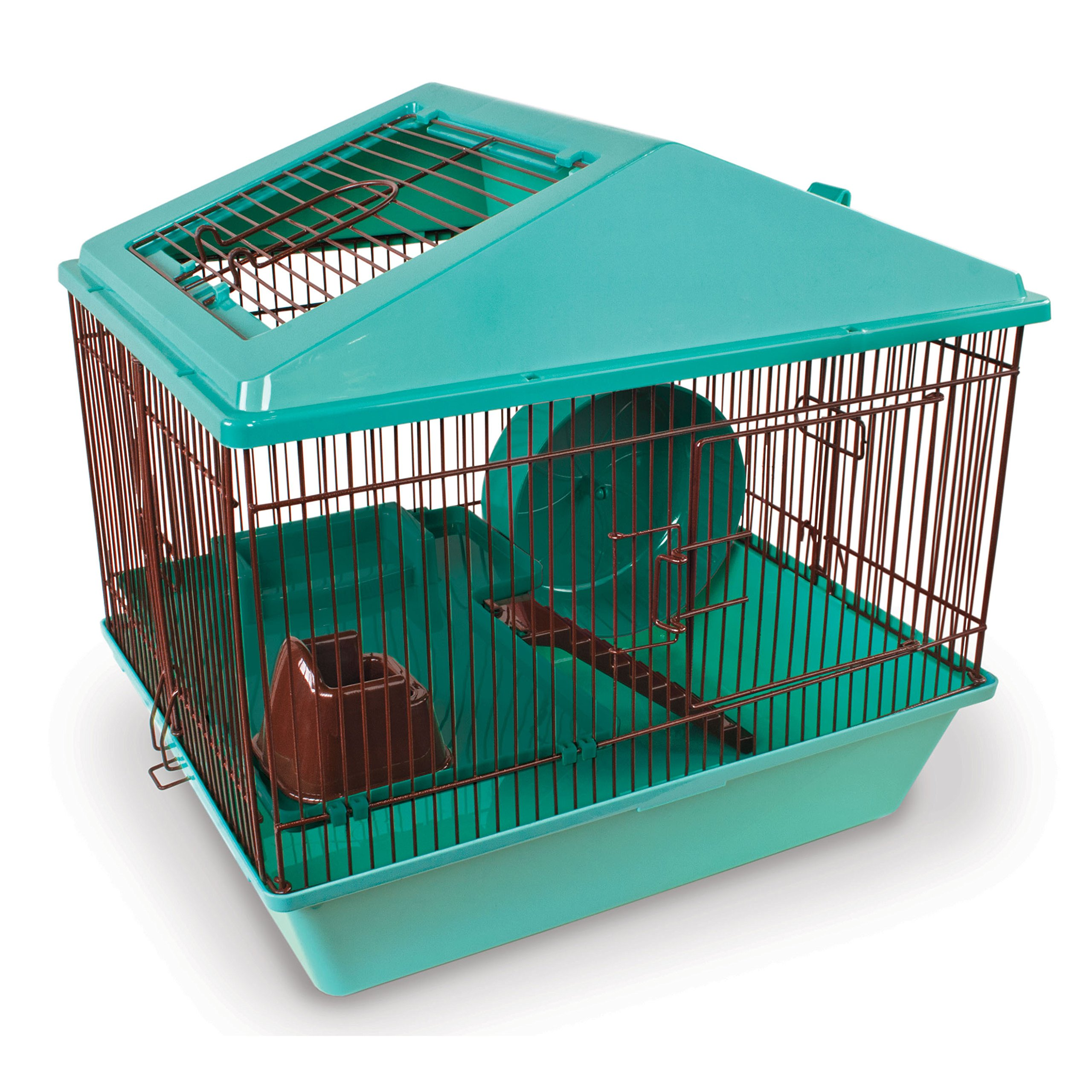 Ware Manufacturing Animal House 16'' 2 Levelfor Hamster - Colors May Vary