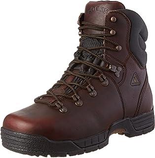 Amazon.com | Rocky Men's Mobilite Six Work Boot | Industrial ...
