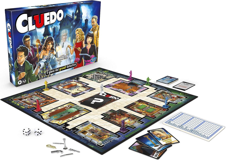 Hasbro Gaming-(Hasbro F0099105) Cluedo Con El Fantasma De Ms White: Amazon.es: Juguetes y juegos