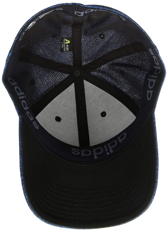 new concept 451aa 2ea44 Amazon.com  adidas Men s Release Stretch Fit Cap  Sports   Outdoors