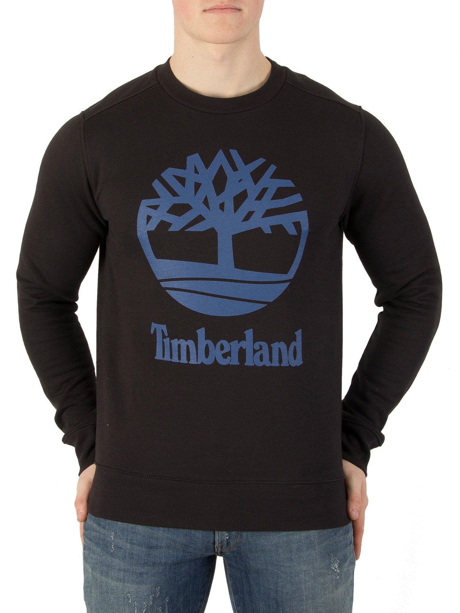 Timberland Men's Graphic Sweatshirt, Black, Medium