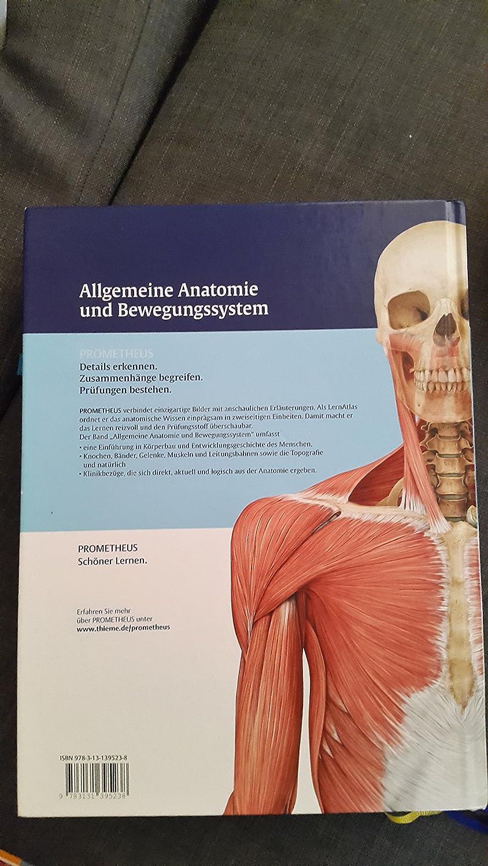 PROMETHEUS LernAtlas der Anatomie - Allgemeine Anatomie und ...