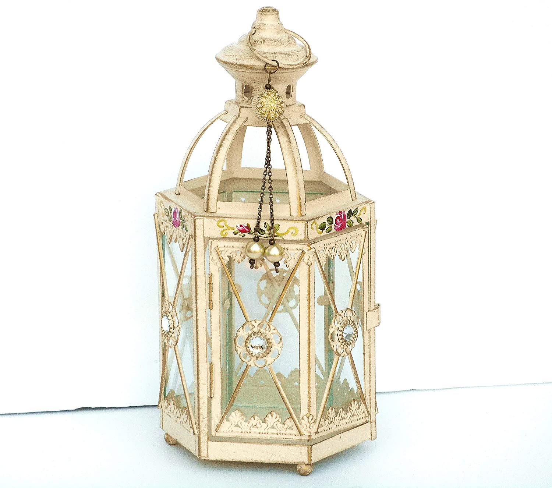 Crystal candle holder Weinfurtner German crystal Vintage home decor Elegant candle holder 24 k gilded Vintage tea light holder
