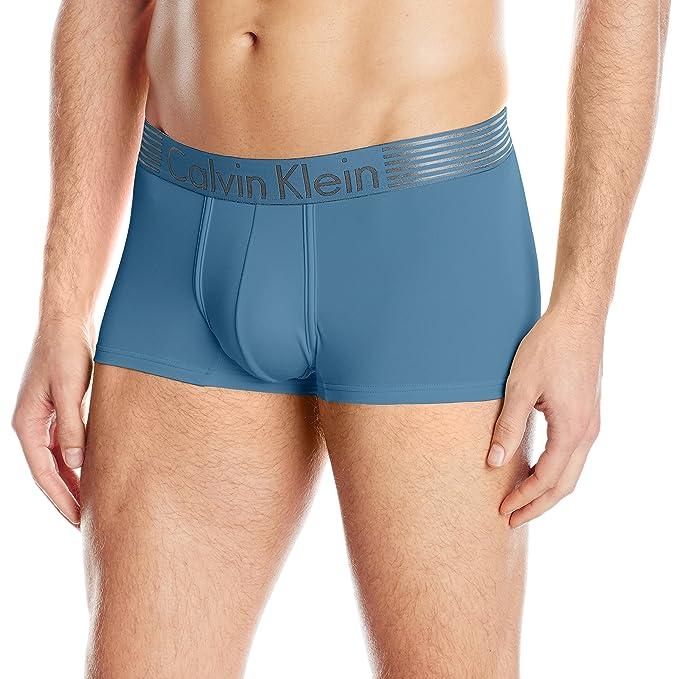 Calvin Klein ropa interior para hombre hierro fuerza Micro cintura baja - Azul -