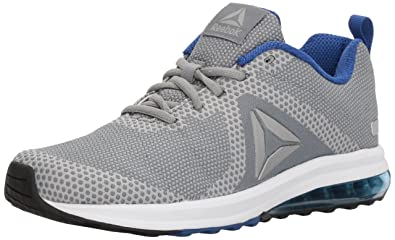 Reebok Men s Jet Dashride 6.0 Running Shoe Flint Grey Stark Grey Collegiate  Royal  5a7c83946