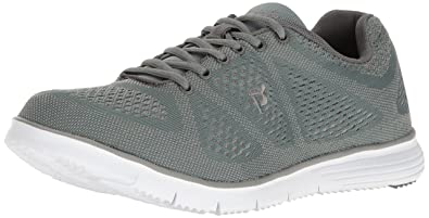 Propet Men's Travelfit Walking Shoe, Grey, ...