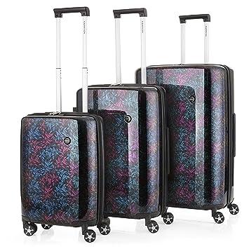 CarryOn Oval TSA - Juegos de maletas - bolsas de viaje - color holografico: Amazon.es: Equipaje