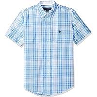U.S. Polo Assn........ - Camisa de Manga Corta clásica para Hombre