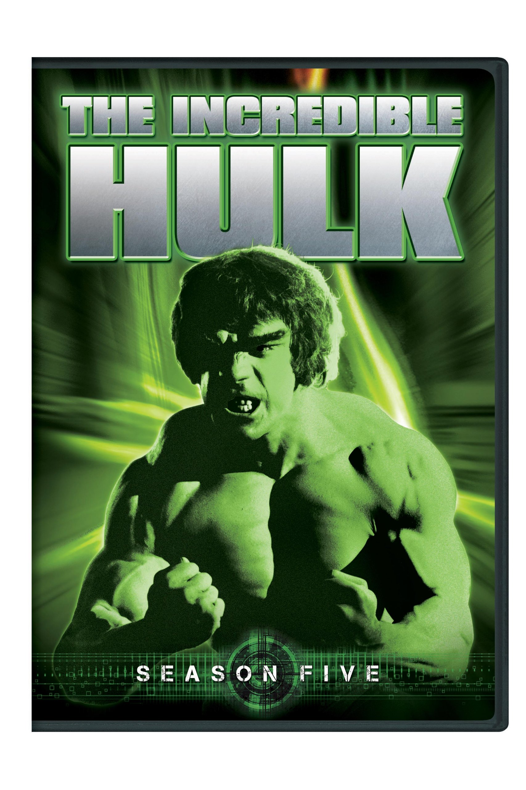 DVD : The Incredible Hulk: Season Five (2 Pack, Snap Case, Repackaged, 2 Disc)