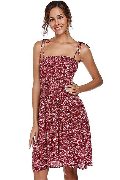b9f2dbadbc3 Bifast Pretty Spaghetti Strap Floral Cotton Dress Long Beach Dresses Black  Dress
