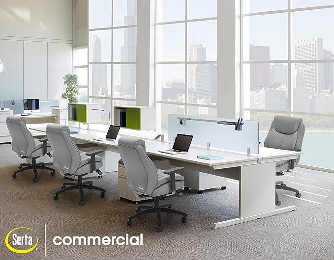 Amazon.com: Serta Smart Layers Commercial Series-400 Task Puresoft ...