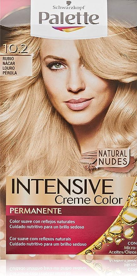 Palette Intense - Tono 10.2 Rubio Nácar - Coloración ...