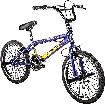 F.lli Schiano Hard Road BMX Bicicleta, Hombre, Azul/Amarillo, 20 ...