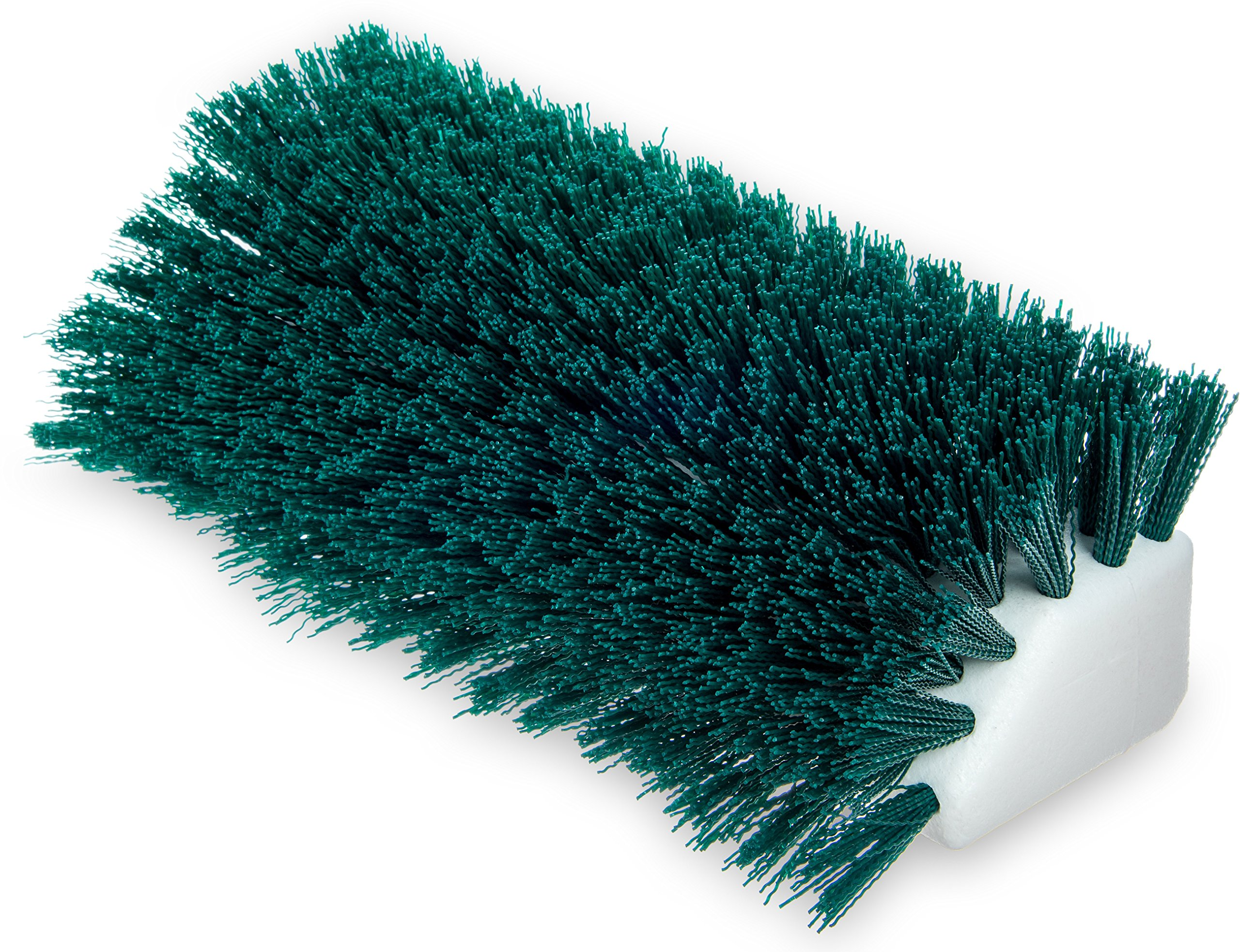 Carlisle 4042309 Hi-Lo Floor Scrub Brush, Green (Pack of 12) by Carlisle (Image #1)