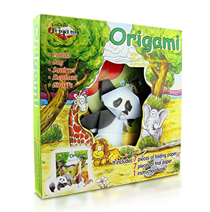 Office & School Supplies Bright Creative 3d Dinosaur Origami Book Children Diy Puzzle Game Thinking Training Origami Step Book