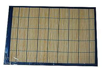 Bambus 2er Tischset Rutschfest Platzset Platzmatte Untersetzer