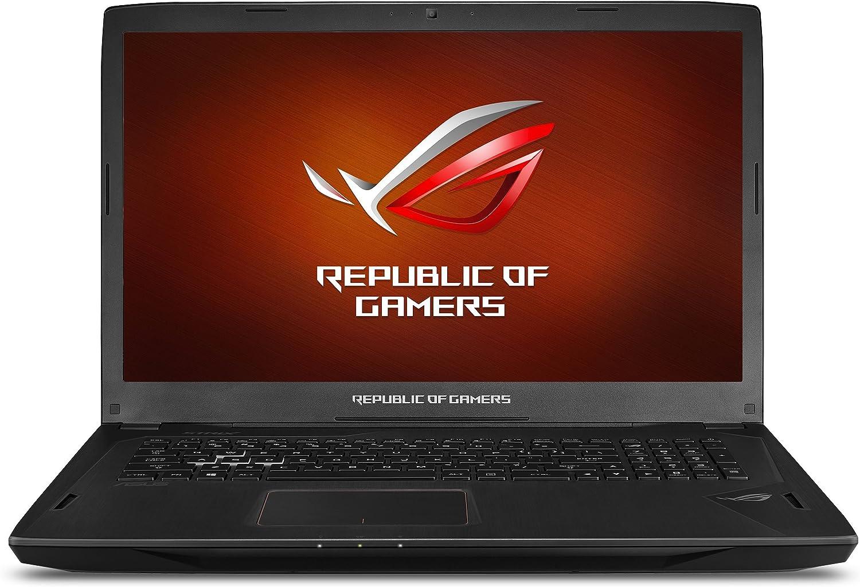 ASUS ROG Strix G-SYNC 120 Hz Full HD VR Ready Ultra Laptop GeForce GTX 1070 8GB Core i7-7700HQ, 16GB DDR4 DRAM, 128GB SSD, 1TB HDD, 15.6