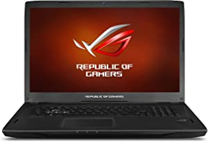 ASUS ROG Strix G-SYNC 120 Hz Full HD VR Ready Ultra Laptop GeForce GTX 1070 8GB Core i7-7700HQ, 16GB DDR4 DRAM, 128GB SSD, 1TB HDD, 15.6