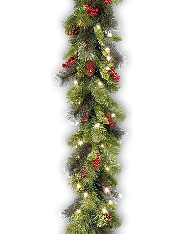 Bulk Christmas Garland.Shop Amazon Com Wreaths Garlands