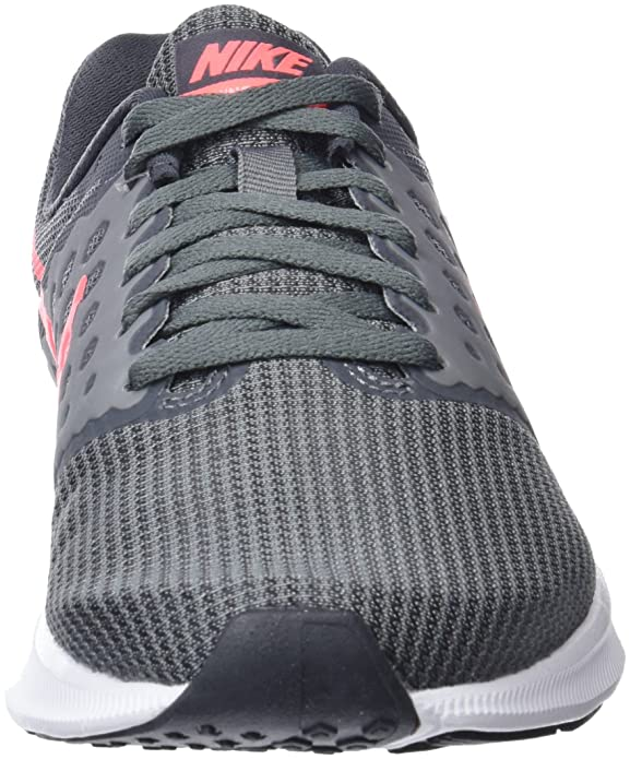 ab2b093e1f1a Nike Women s Downshifter 7 Running Shoe (Wide) Cool Grey Lava Glow Dark  Grey White Size 8. 5 Wide US  Amazon.in  Shoes   Handbags