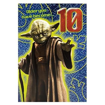 Hallmark 10a tarjeta de cumpleaños de Star Wars más viejo ...