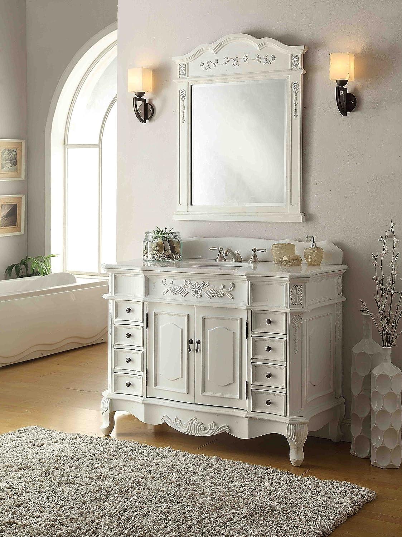 "Amazon.com: 42"" Traditional Style Morton Bathroom sink vanity with ..."