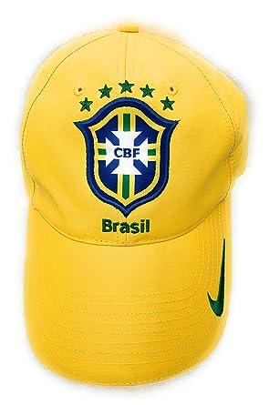 Nike Cap CBF Brasil Tapa Amarillo 253705 703 Talla Única One Size ...