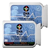 ZMA PLUS 1000mg x 180 vegan capsules of pure Product - Advanced Anabolic Mineral Support. Non Steroid, Magnesium Asparatate, Zinc, Vitamin B6. 100% clinically proven to increase Testosterone levels and strength for individuals involved in any intense weight and or exercise, bodybuilding training programs. 100% Pure ingredients. Suitable for vegans.
