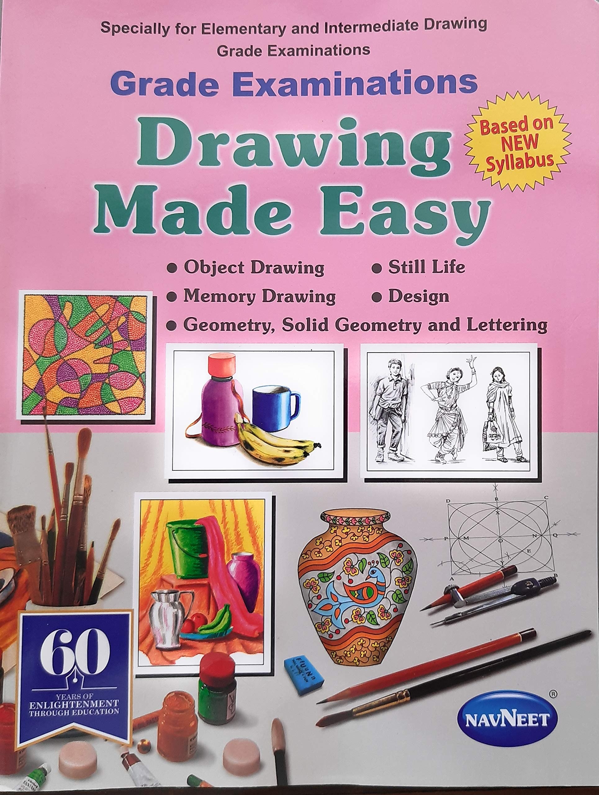 Buy Grade Examination Drawing Made Easy Book Online At Low Prices In India Grade Examination Drawing Made Easy Reviews Ratings Amazon In