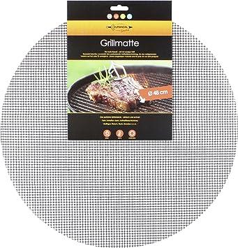 Durandal Selection parrilla rejilla redonda diámetro 48 cm antiadherente Barbacoa Matte Grillen Barbacoa: Amazon.es: Hogar