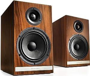 Audioengine HDP6 150W Passive Bookshelf Speakers (Walnut)