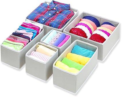 19668fd248e2a Amazon.com  Simple Houseware Foldable Cloth Storage Box Closet ...
