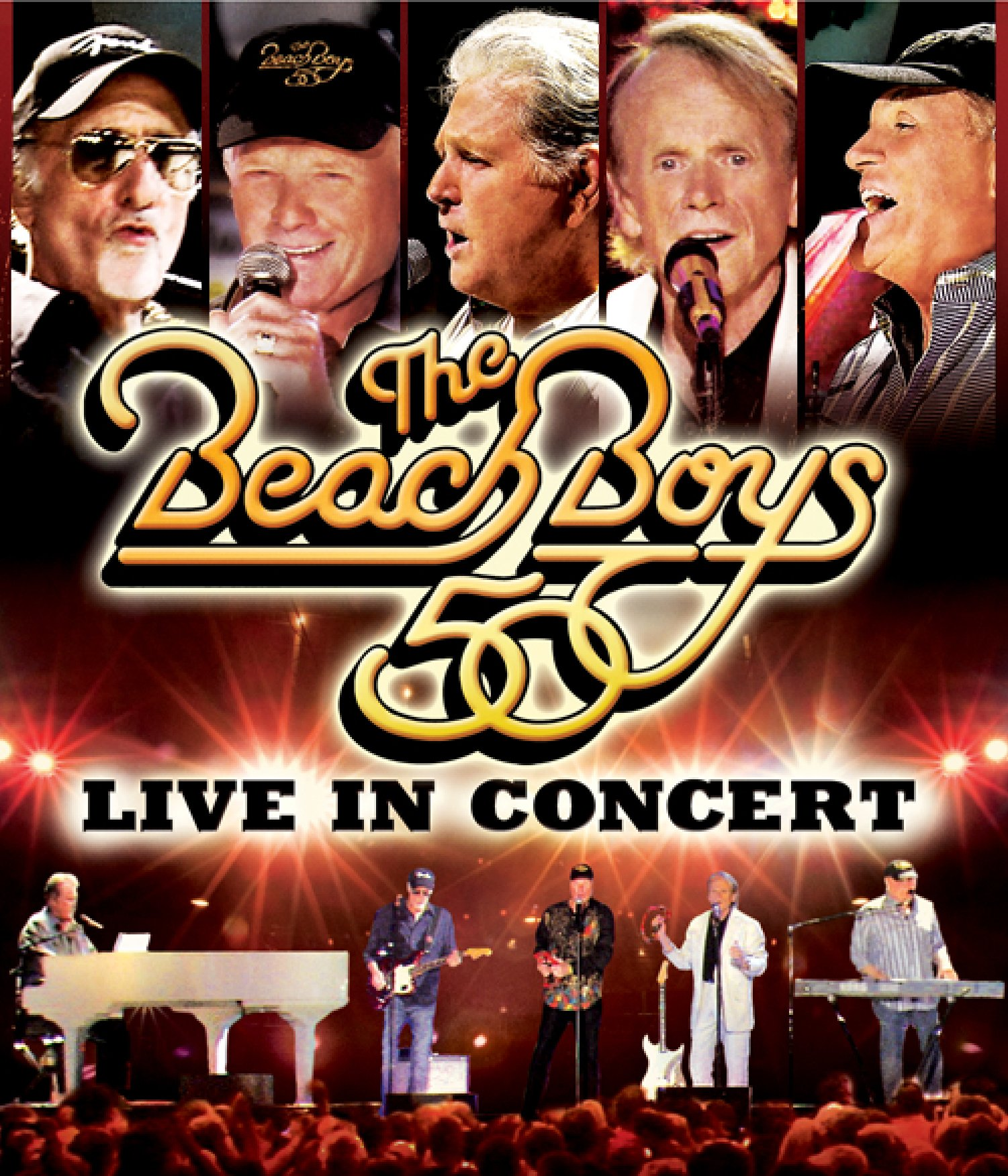 DVD : The Beach Boys - The Beach Boys: Live in Concert: 50th Anniversary Tour (DVD)