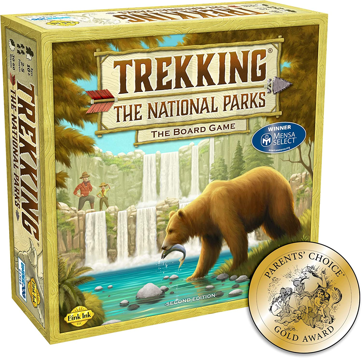 Amazon Com Trekking The National Parks The Award Winning Family Board Game Second Edition Toys Games