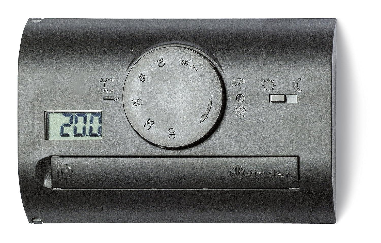 FINDER 1T4190032000PAS Habitación termostato de pared de montaje con ...